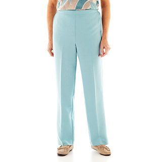 Alfred Dunner When in Rome Pull On Pants, Aqua, Womens