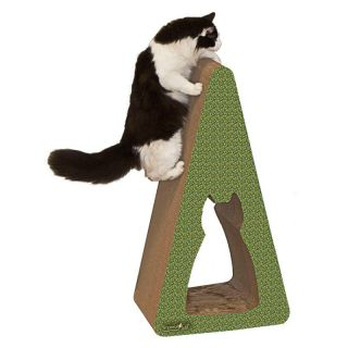 Cat Claws Inc Shape Scratch n Shapes   Giant Pyramid Multicolor   01075