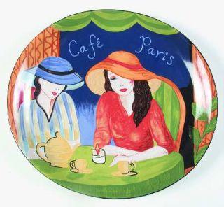 Sango Cafe Paris 12 Chop Plate/Round Platter, Fine China Dinnerware   Various W
