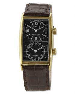 Transworld Dual time Watch, Black