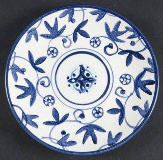Hd Designs Annalise Appetizer Plate Fine China Dinnerware Blue Floral u0026 Scrol & Hd Designs Annalise Appetizer Plate Fine China Dinnerware Blue ...
