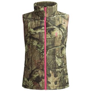 Browning Montana Camo Vest   Insulated (For Women)   MOSSY OAK INFINITY/PINK (L )