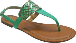Womens Westbuitti Victoria 1   Mint Ornamented Shoes