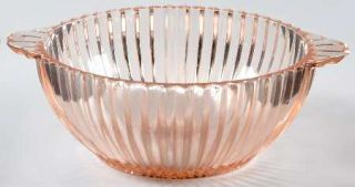 Anchor Hocking Queen Mary Pink Lugged Soup Bowl   Pink, Depression Glass