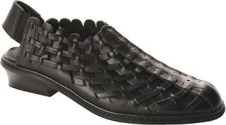 Womens Annie Lexi   Black Leather Casual Shoes