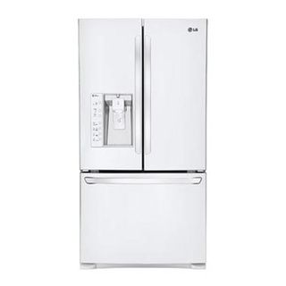 Lg Lfx31925sw Smooth White Super capacity French Door Refrigerator And Smart Cooling Technology