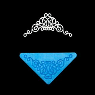 Triangle Lace Silicone Mold Cake Decoration