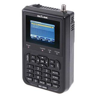 F01940 Satlink Ws 6906 Dvb S Fta Digital Satellite Finder Meter Tv Signal Receiver Ws6906