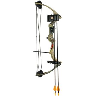 Bear Archery Warrior III Compound Bow (For Youth)   REALTREE APG ( )