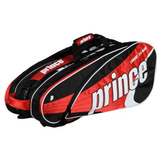 Prince Tour Team 9 Pack Tennis Bag Red  Red