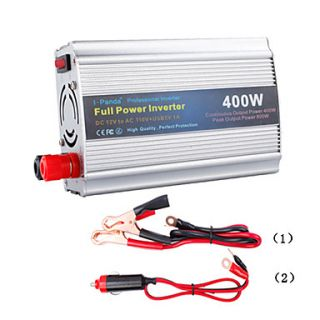 Power Inverter 400W DC12V to AC100 120V, Modified Sine Wave
