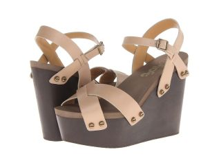 Flogg Liliana Womens Wedge Shoes (Brown)
