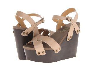 Flogg Liliana Womens Wedge Shoes (Brown)
