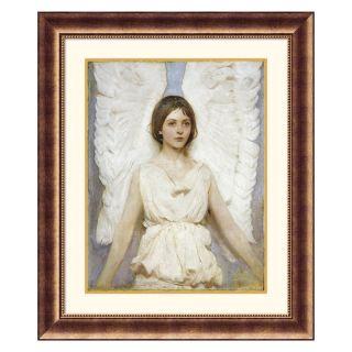 J and S Framing LLC Angel Framed Wall Art   30.5W x 36.5H inch Multicolor