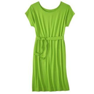 Merona Womens Knit Belted Dress   Zuna Green   XL