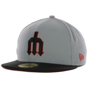 Seattle Mariners New Era MLB GB Red Bottom 59FIFTY Cap