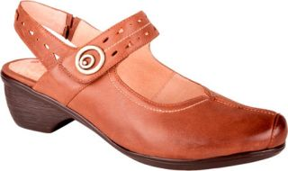 Womens Blondo Fawn   Honey Brown Blanche Neige Leather Casual Shoes
